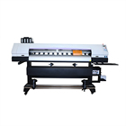 Large format 5113 head digital flag cotton fabric textile sublimation machine inkjet printer ink price
