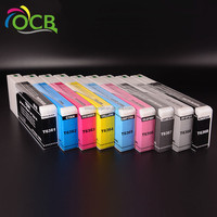 OCBESTJET 9 Colors 700ML/PC T8041-T8049 Compatible Ink Cartridge Full With Pigment Ink For Epson P6000 P7000 P8000 P9000 Printer