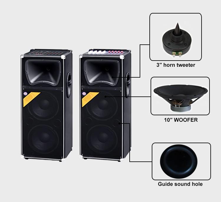 150w Home Sound System For Disco 10inch Model Box Speaker Audio ...