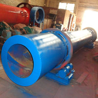 Widely application firm Structure tube rotary drum dryer
