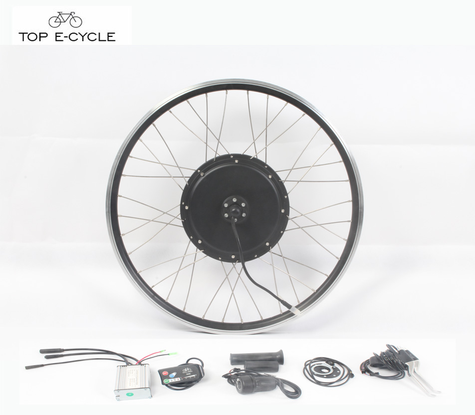 Green Powered 1000W Rear Wheel Applied Electric Bicycle Convension bike kit