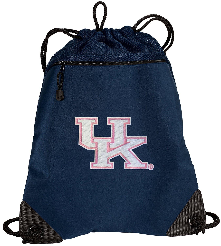 BROAD BAY UK Wildcats Drawstring Backpack Womens University of Kentucky  Cinch Bag - UNIQUE MESH   e308930a2a