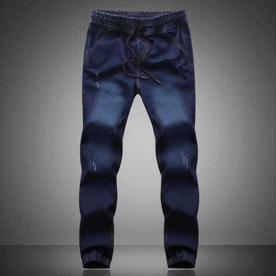 388d8160d16 Fashion Plus Size Denim Men s jeans men Cotton Fit Drawstring jogger pants  Sweatpants Men s Trousers Pants M~5XL Blue Cargo - Deal of The Day Deal of  The ...