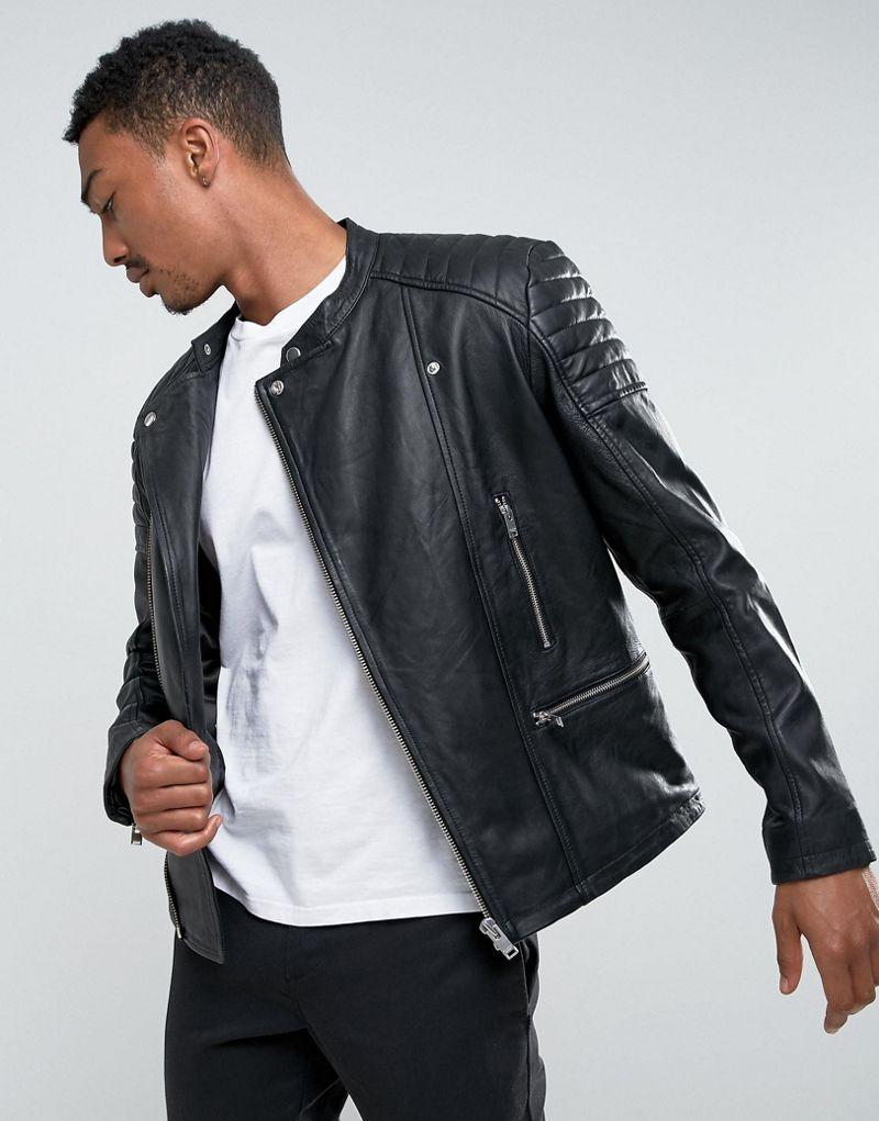 Giacca Biker Personalizzato Alta Qualità Di Notch Moto Collar Di qwwvZFf0P
