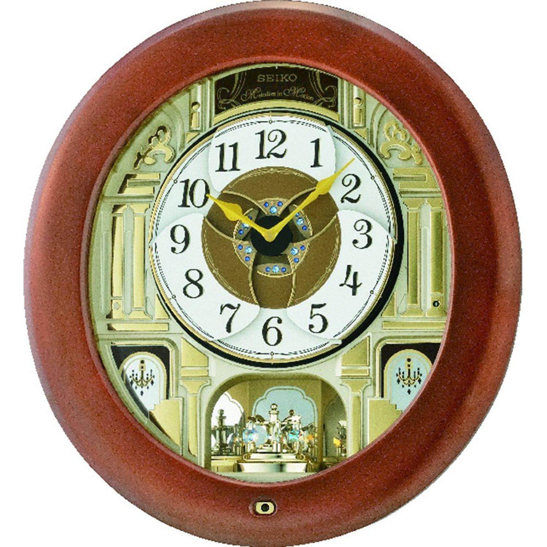 Большие настенные электронные часы гранат сt-зел.