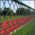 Diamond wire mesh, Hot dipped galvanized wire chain link fence