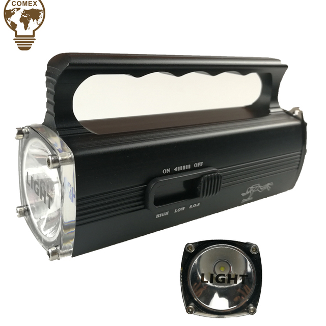 afcde423ca1 Super bright Waterproof Rechargeable LED Torch Light Multi-function  flashlight