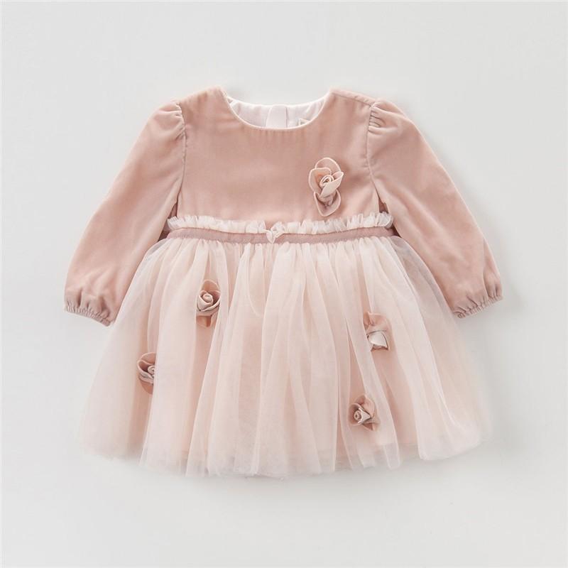 DB4102 davebella princesa del vestido de partido con arcos niños ...