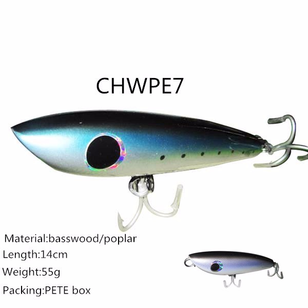 Private Label Wooden Bait Hard Body Fishing Lure Wood Fishing Pencil  Topwater Lure 14cm 55g - Buy Wooden Fishing Lure,Hard Body Bait Fishing