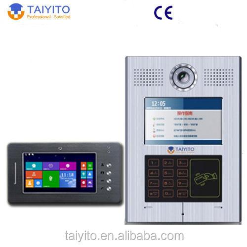 Multi Apartment Video Intercom System, Multi Apartment Video ...