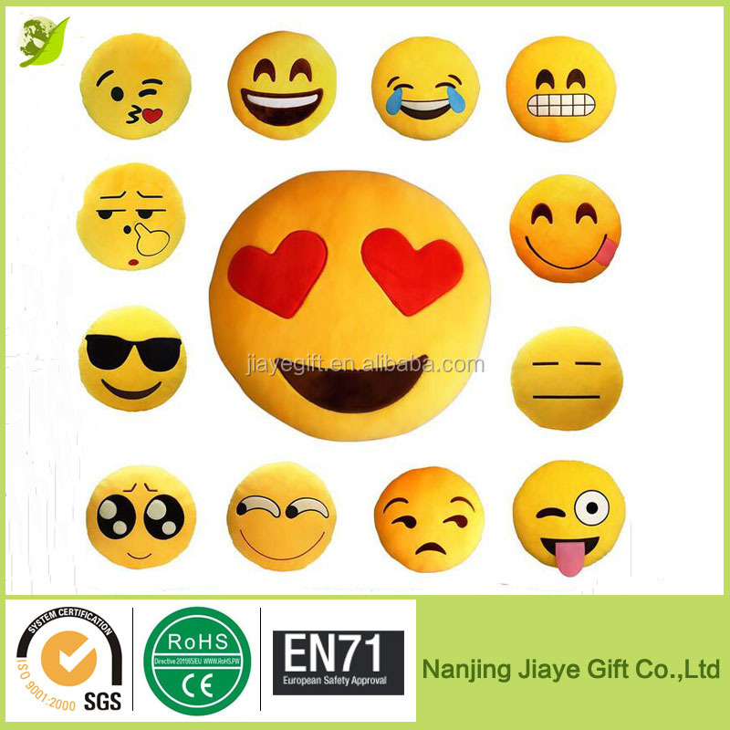 Cheap Wholesale Smiley Cushion Emoji Pillows