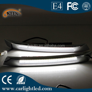 Super Bright 12V Daytime Running Light For VW New Santana Car Fog Head Lamp