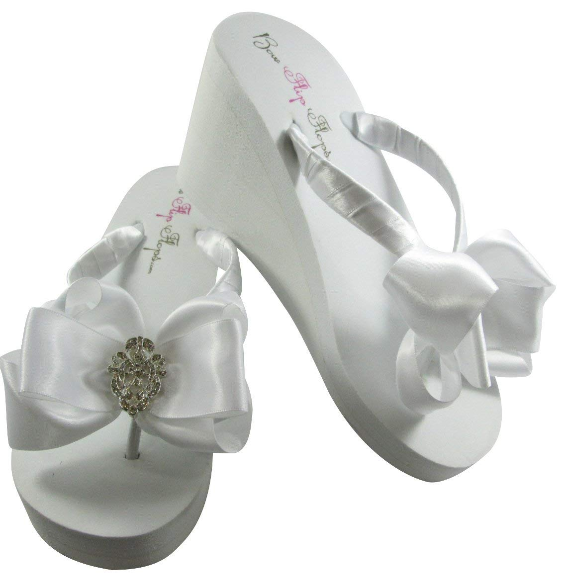 477a2d8cf311a Cheap Bridal White Flip Flops, find Bridal White Flip Flops deals on ...