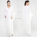 New Model Abaya In Dubai White Maxi Party Dress And Muslim Wedding