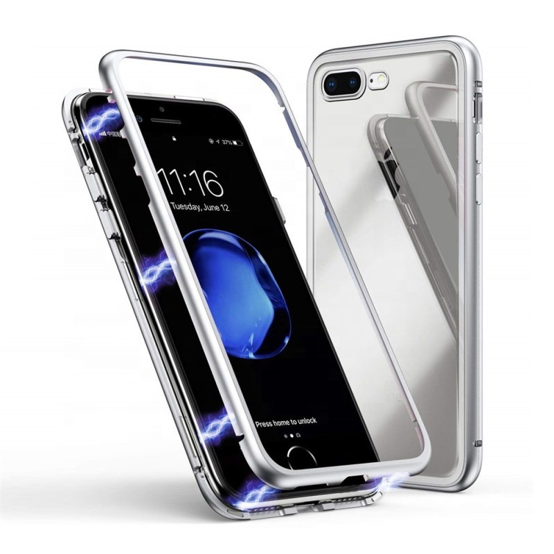6s phone case back <strong>cover</strong> magnetic anti shock cell phone <strong>cover</strong>