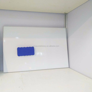 Standard size wall mounted magnetic whiteboard