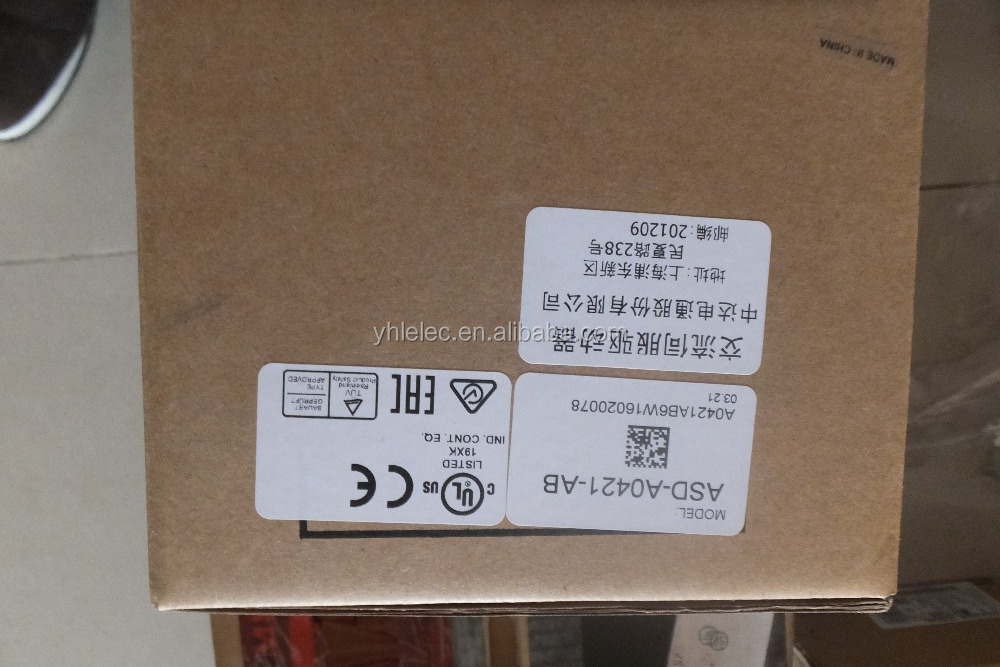 new and original AC Servo Drive AB Series 220V 1 phase 400W 0.4KW ASD-A0421-AB