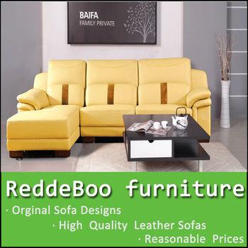Yellow Leather Sofa Living Room Sofas Leisure Furniture Sofa Buy Yellow Leather Sofa High