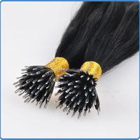 Long lasting fashion style real virgin hair from one donor good feedback grade AAAAA++ tiny tip bonding hair