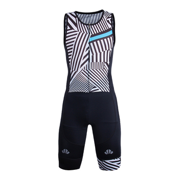 Custom cycling wear triathlon clothing triathlon suit without sleeves for men