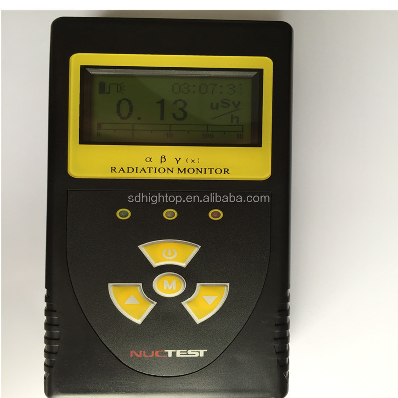 portable nuclear radiation/radioactivity detector