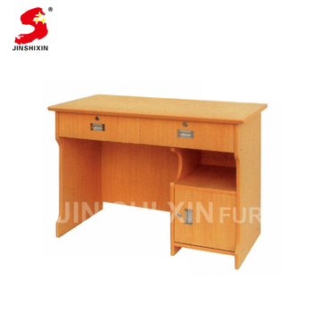 Customized high quality simple computer table melamine wooden office table  design, View wooden office table design, JinShiXin Product Details from ...