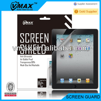 For iPad 2 accessories / screen protector oem/odm (High Clear)