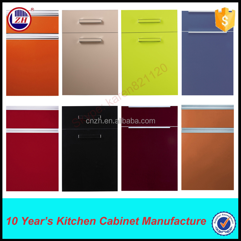 different cabinet doors popular acrylic high gloss kitchen cabinet door with different