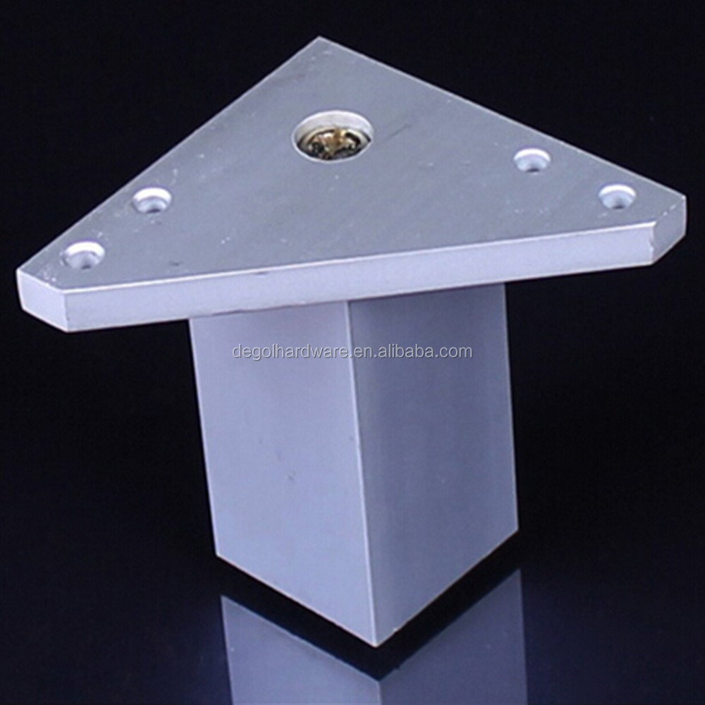 Aluminum Contemporary Decorative Metal Furniture Legs