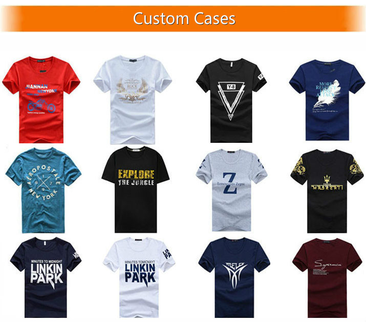 Cheap Custom High Quality Cotton T Shirt with Printing Embroidery Your Logo