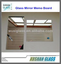 Hot Sales 2014 Magnetic Glass Mirror Writing Board with 250x600mm