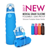 China Supplier Collapsible Silicone Sports Bottle/1L Bicycle Accessories Sport Water Bottle