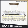 JANSOUL modern crystal chandelier for kitchen island
