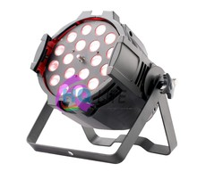 DMX 512 cheap disco dj led stage lighting 18*18w 6in1 zoom led par can light