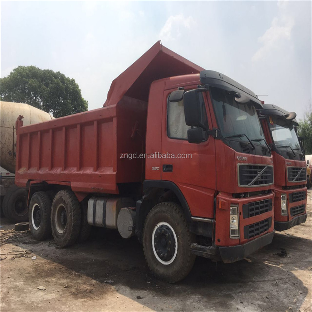 Volvo made FM12 380HP truck head used condition volvo FM12 FH12 tractor head for sale