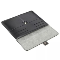 Luxury Leather Briefcase for pc Phone 9.7 inch Tablet Portfolio Cover / Credit Cards Holder