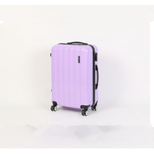 cheap fashional colorful abs hard side carry-on rolling luggage
