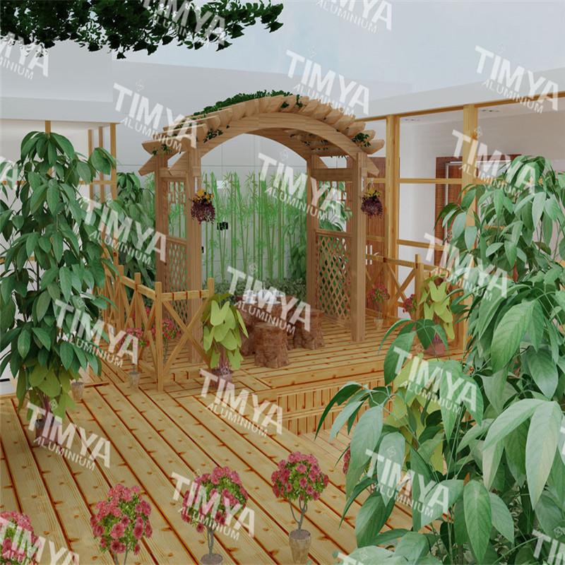 Como hacer un arco de flores para boda paso a paso 7 for Arcos para jardin