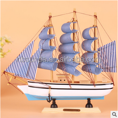 oficina regalos creativos modelo de barco de vela decoracin de la mesa