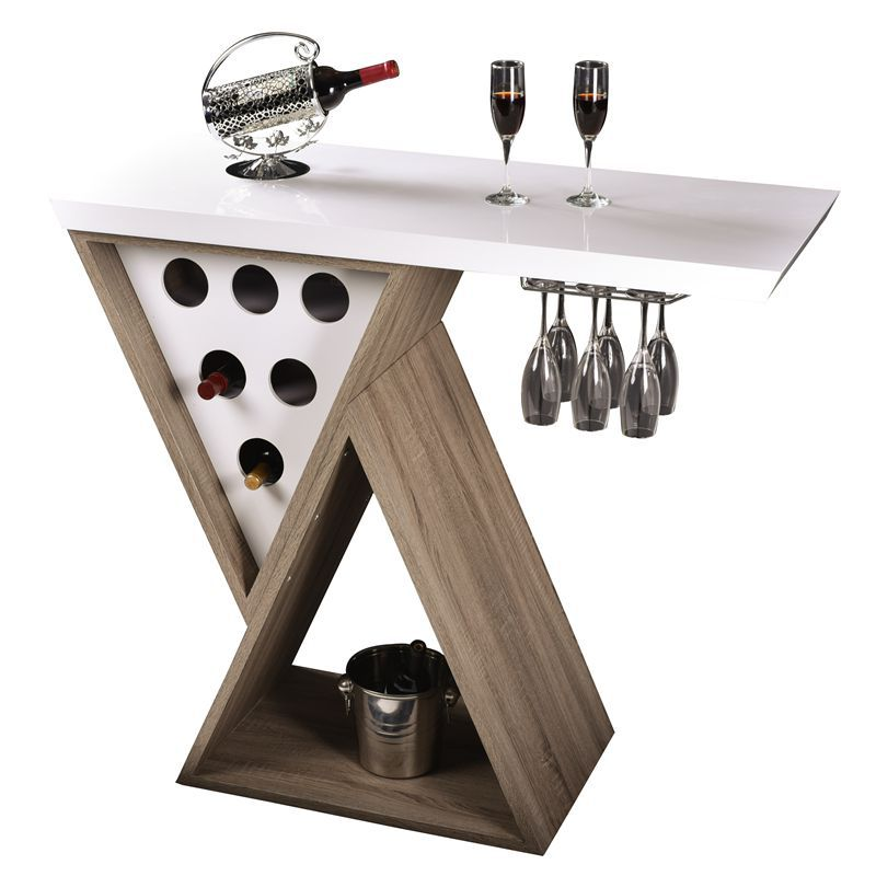 2015 Daoheng Bar Furniture Modern Home Bar Table Design with Wine ...