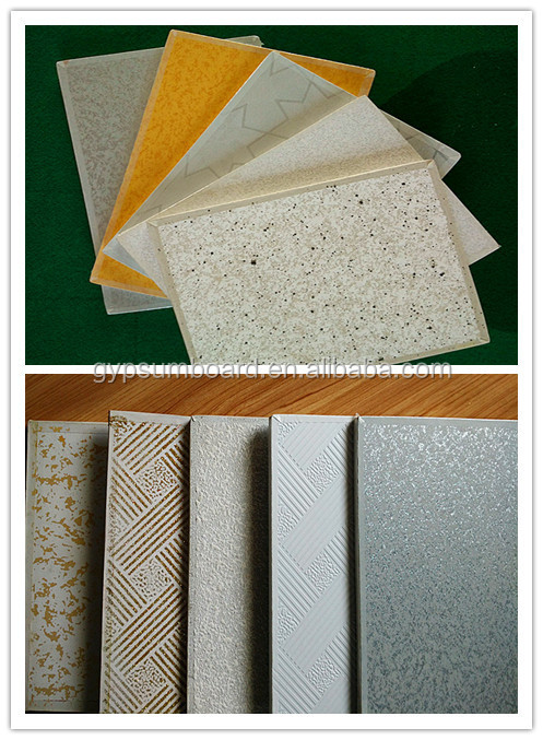 Foil Backed Gypsum Board : Vinyl faced plaster ceiling  buy glass