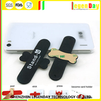 China Supplier silicone touch u silicon smart stand for mobile phone