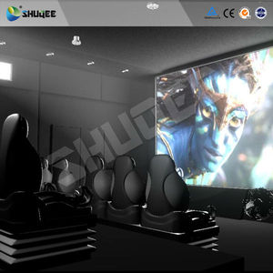 New effects 5D motion simulator 3 dof 6 dof high quality chairs cinema  system