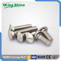 Indoor and Out door Furniture A2 A4 70 80 Stainless Steel DIN603 Carriage Bolt