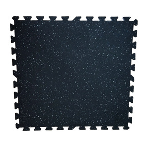 1.2/1.8mm black floor rubber mat