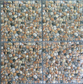 Style Of Pebble Stone China Price Exterior Flooring Tile For Garden