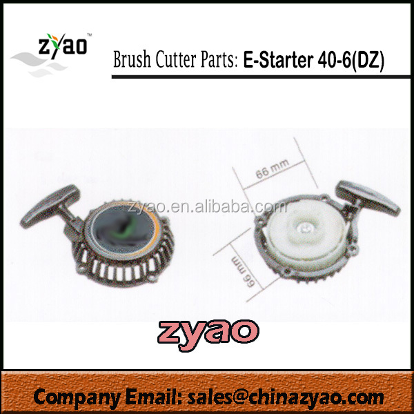 starters for brush cutter/bush cutter: Easy starter of 40-6 engine (DaZhou style)