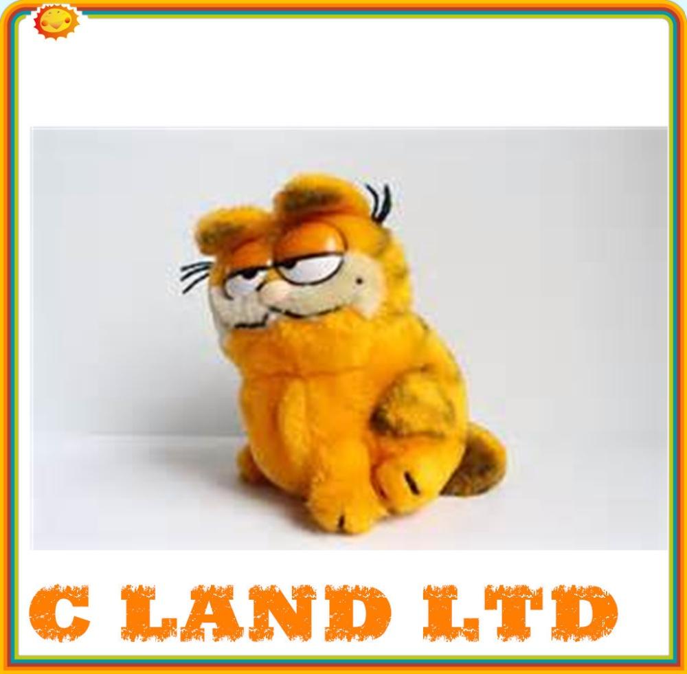 Popular Long Leg Cat Of Plush Toy Yellow Garfield Cat Buy Plush