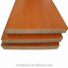 cherry melamine particle board high-density particle board for outdoor usage