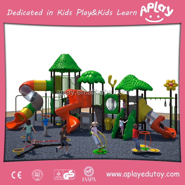 Aplay outdoor playground a play playground equipment playhouse furniture